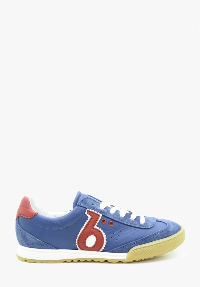 Junior Jungs und Mädchen Leder Sneaker