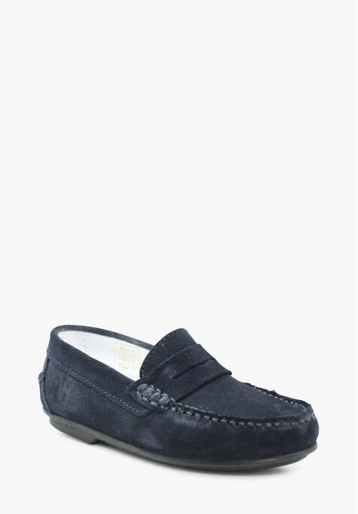 Kid Boy Leather Loafers