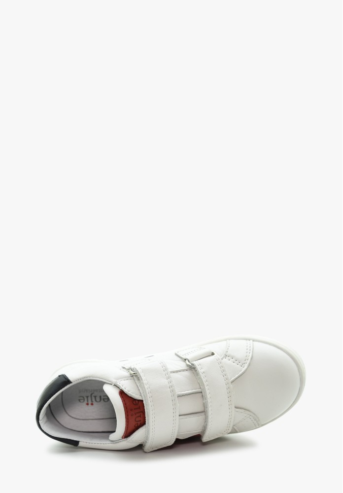 Kinder Mädchen Leder Sneaker