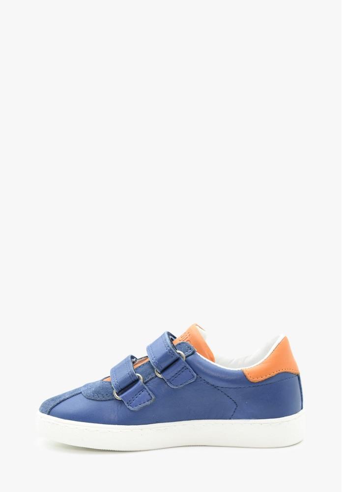 Kid Boy Leather Sneakers