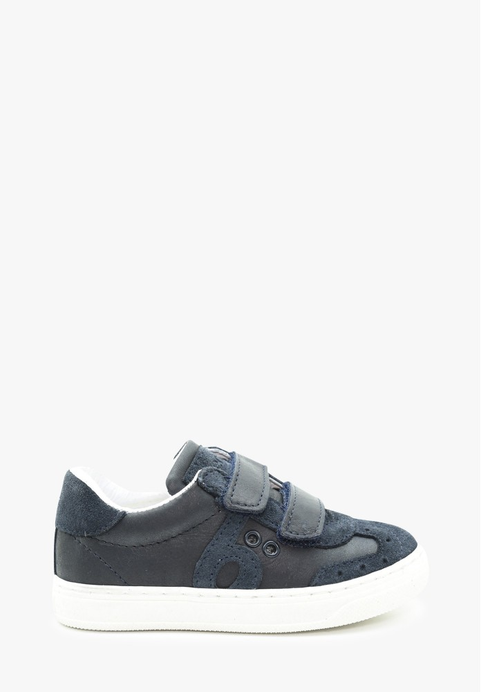 Toddler Boy Leather Sneakers
