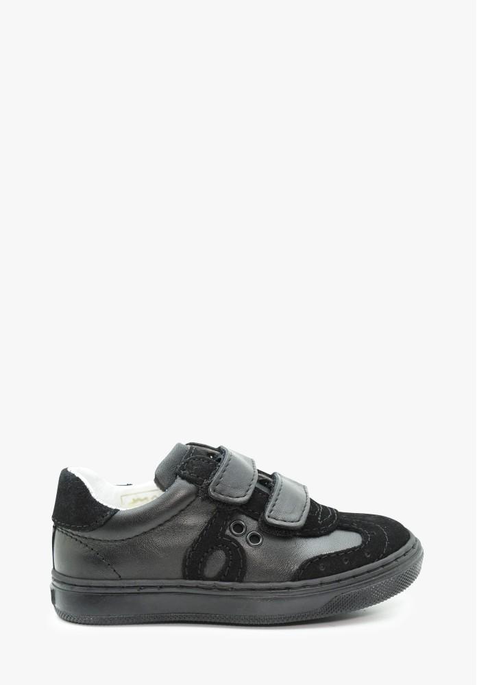 Kleinkinder Jungs Leder Sneaker