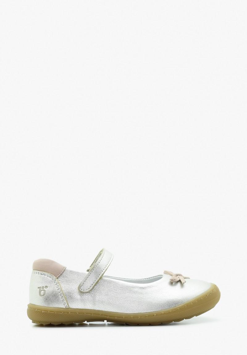 Kid Girl Leather Ballerina