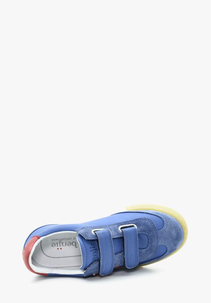 Kinder Jungs und Mädchen Leder Sneaker