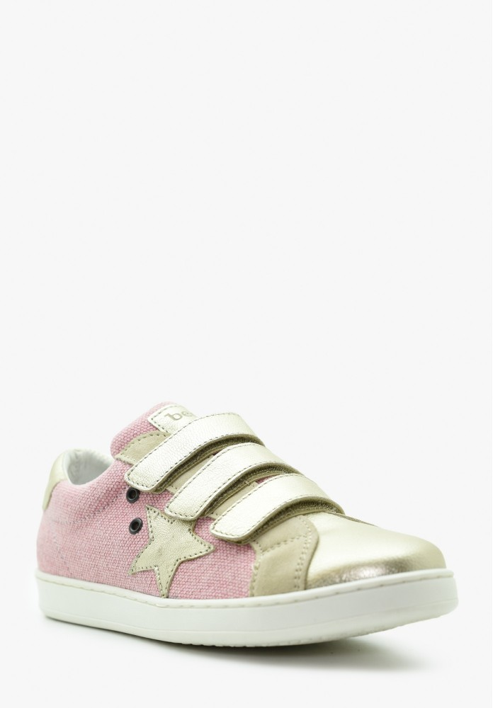Junior Girl Leather Sneakers