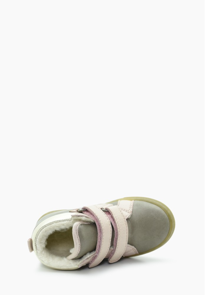 First steps Girl Virgin wool Sneakers