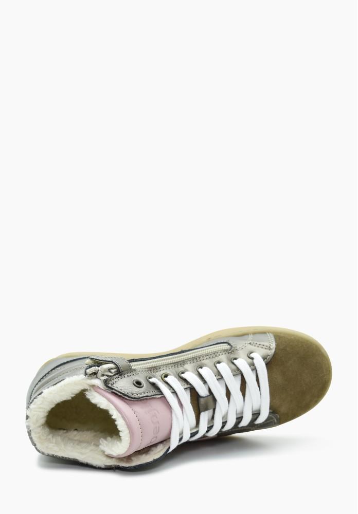 Junior Girl Virgin wool Sneakers
