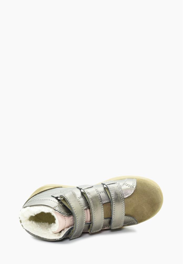 Kinder Mädchen Schurwolle Sneaker