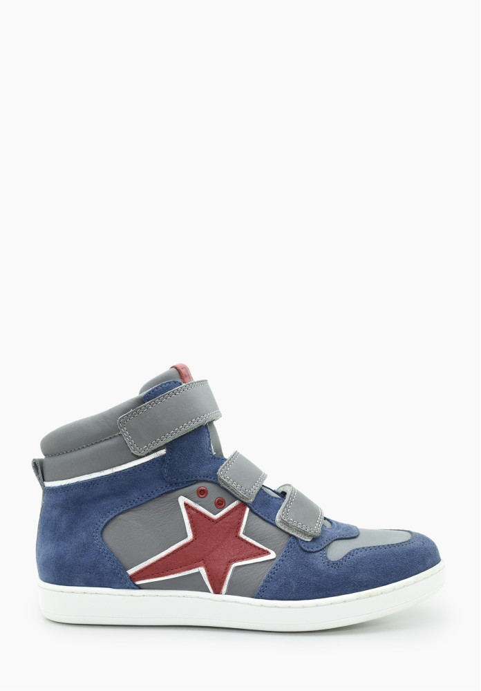 Junior Jungs Leder Sneaker