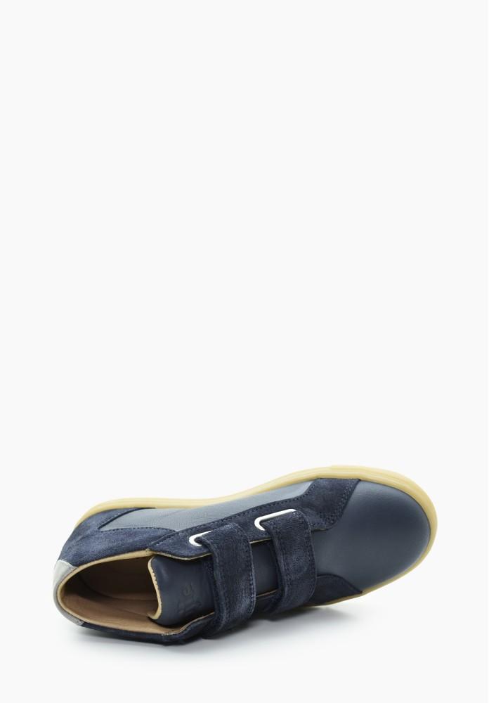 Kinder Jungs Leder Sneaker
