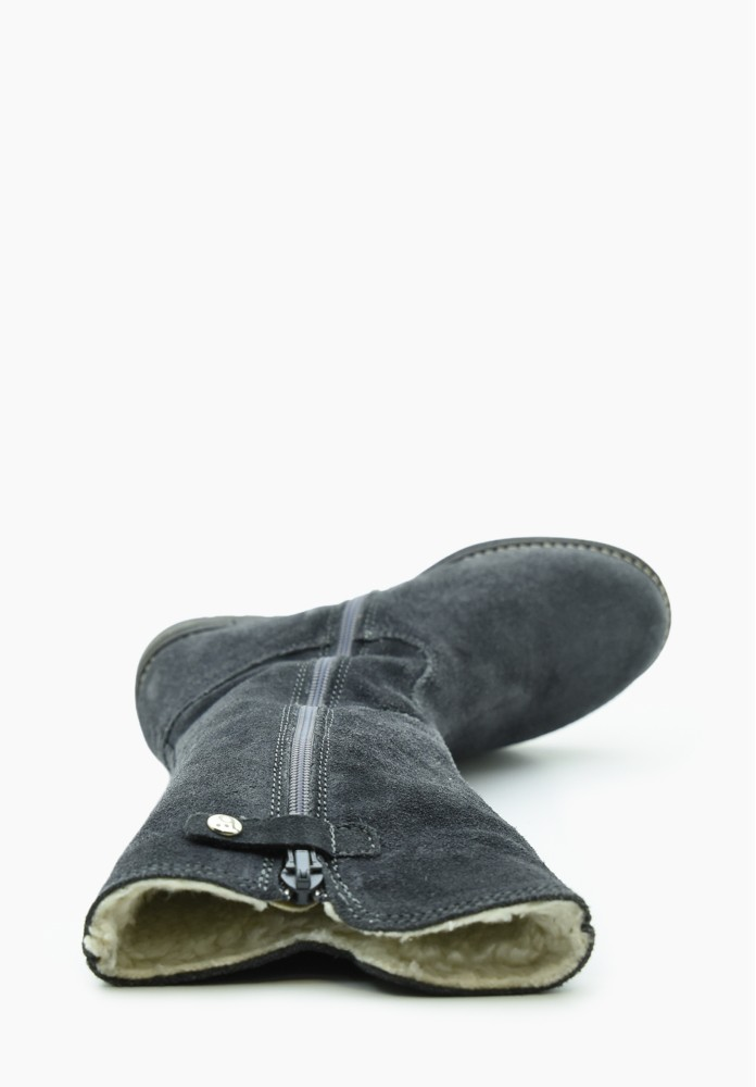 Kid Girl Virgin wool Boots