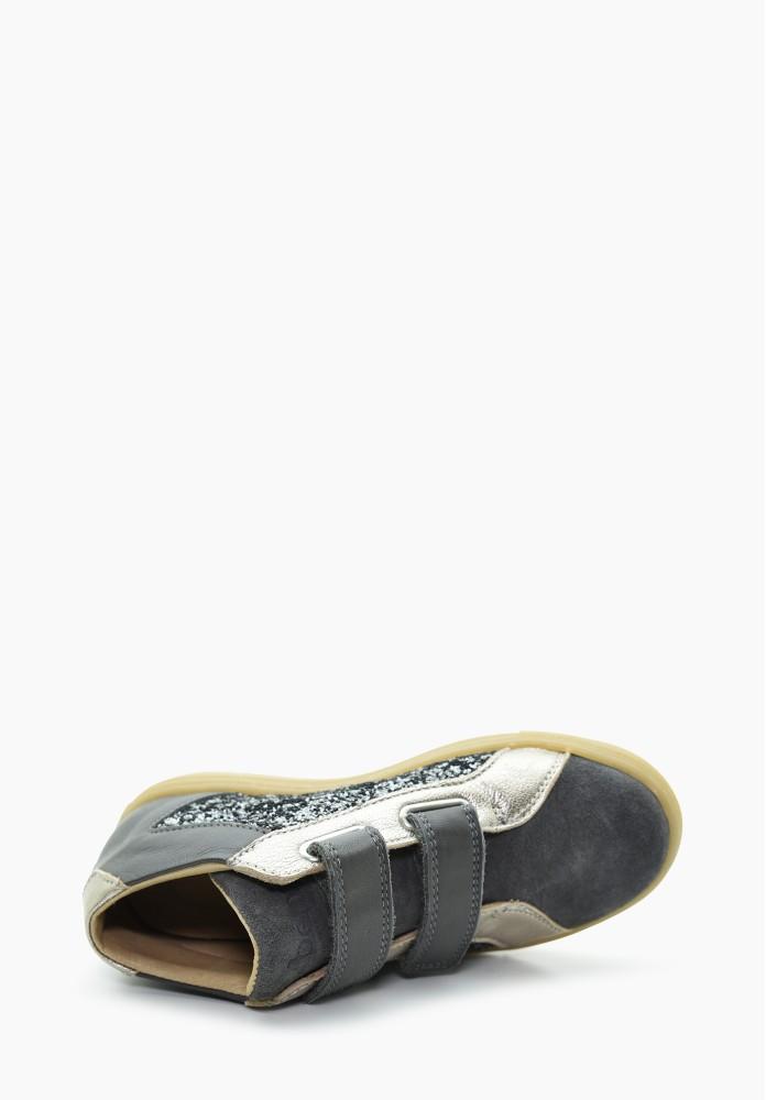 Kid Girl Leather Sneakers