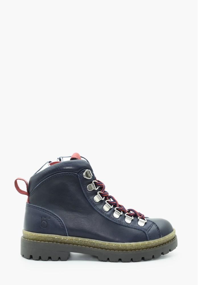 Kinder Jungs und Mädchen Leder Schuh