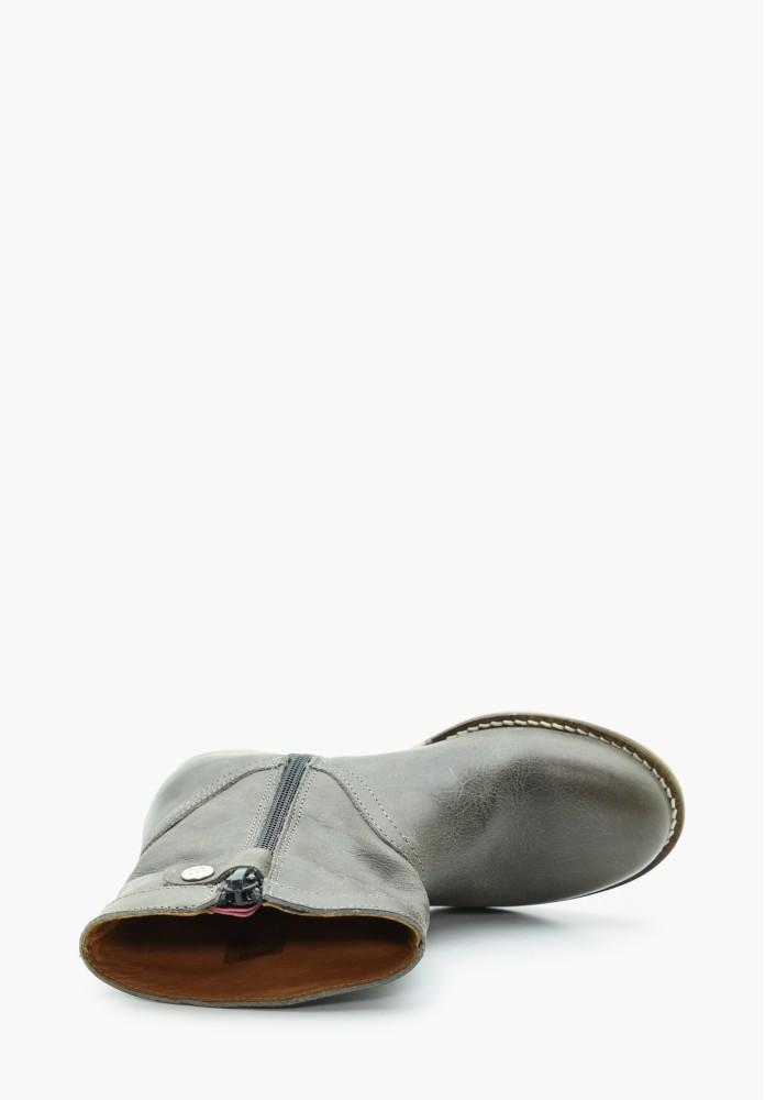 Kinder Mädchen Leder Stiefel / Hohe Schuhe