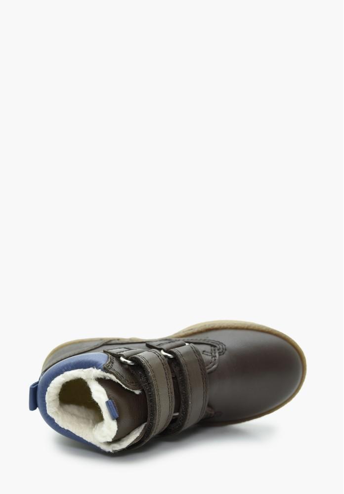 Kleinkinder Jungs Schurwolle Stiefel / Hohe Schuhe