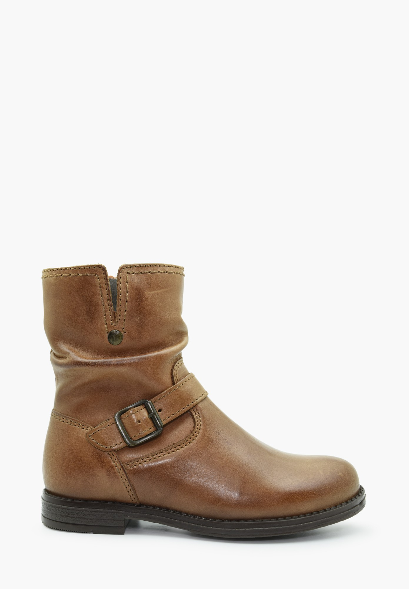 Kid Girl Leather Boots