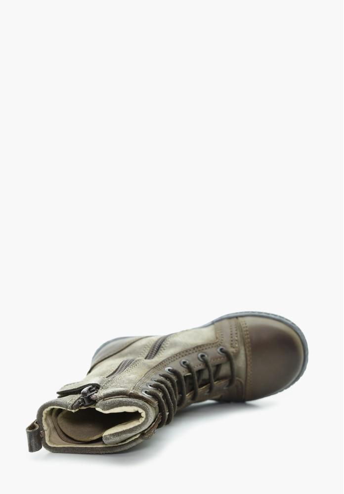 Kleinkinder Jungs und Mädchen Leder Stiefel / Hohe Schuhe