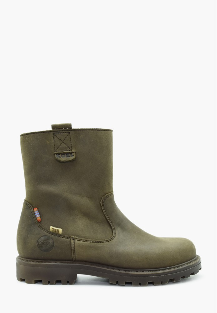 Junior Jungs Leder Stiefel / Hohe Schuhe