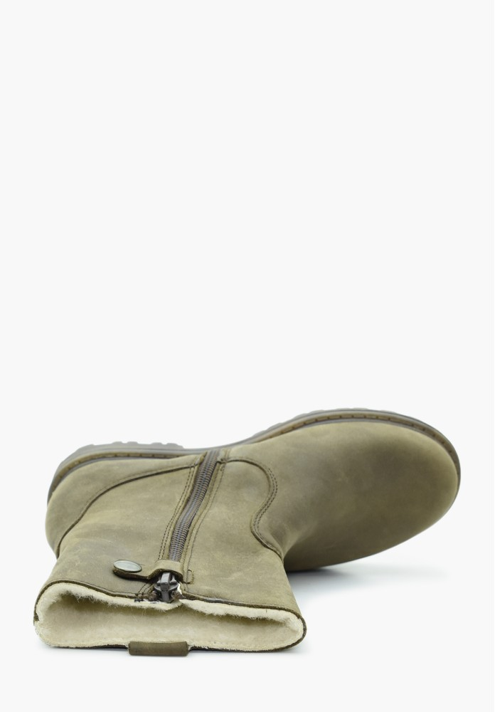 Junior Boy Leather Boots