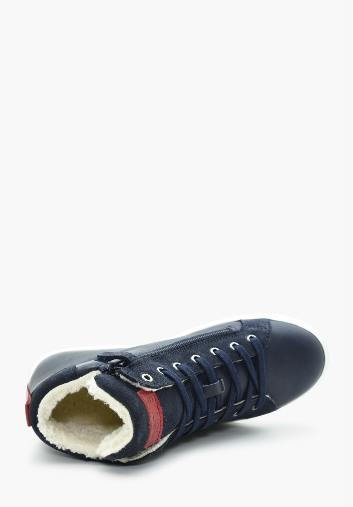 Junior Boy Virgin wool Sneakers