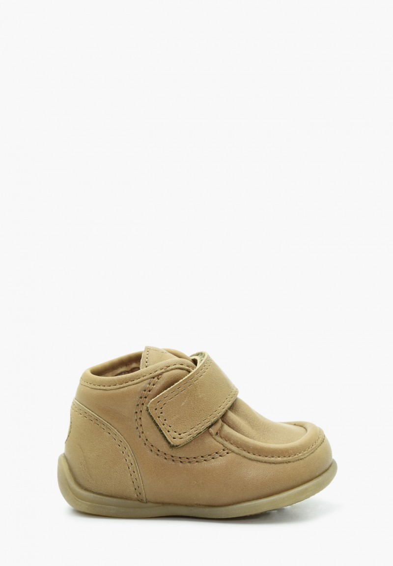 First steps Boy Leather Shoes