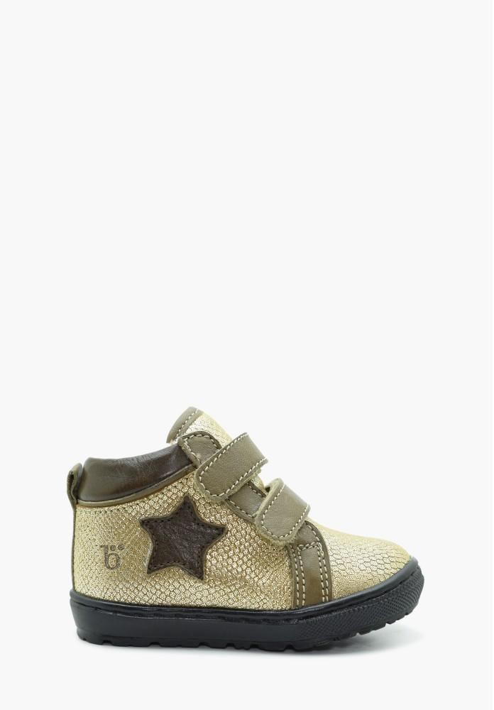 First steps Girl Virgin wool Sneakers