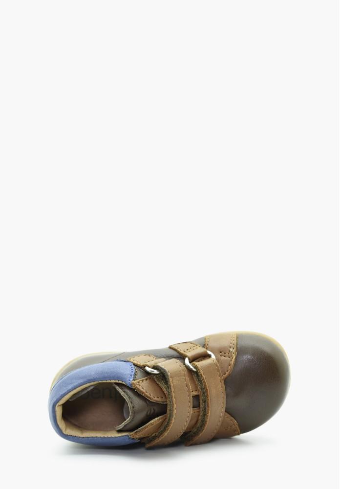 erste Schritte Jungs Leder Schuh