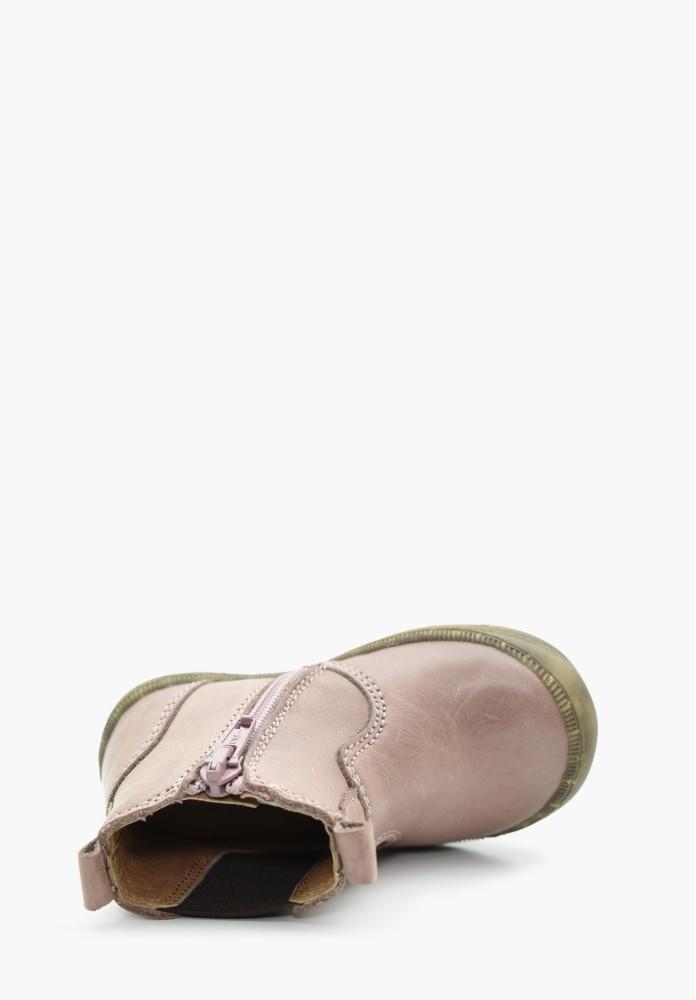 erste Schritte Jungs und Mädchen Leder Stiefel / Hohe Schuhe