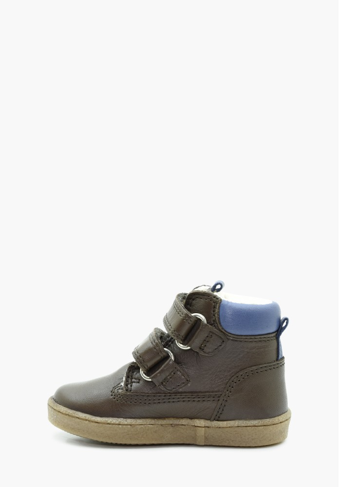 Botte haute ville Junior enfant Mischabel / Bleu Marine