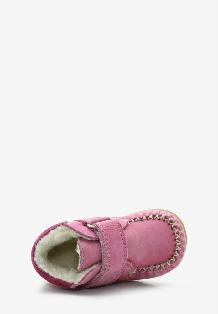 First steps Girl Virgin wool Loafers