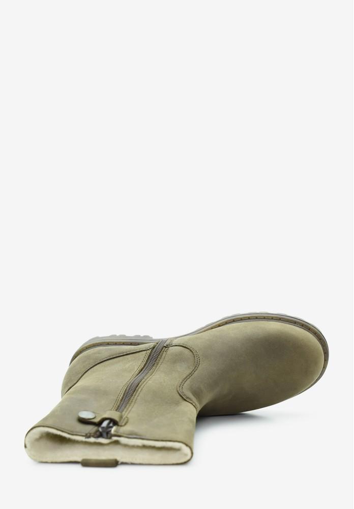 Junior Jungs Schurwolle Stiefel / Hohe Schuhe