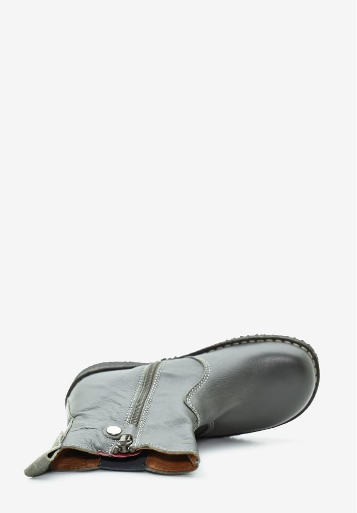 Kinder Jungs Leder Stiefel / Hohe Schuhe