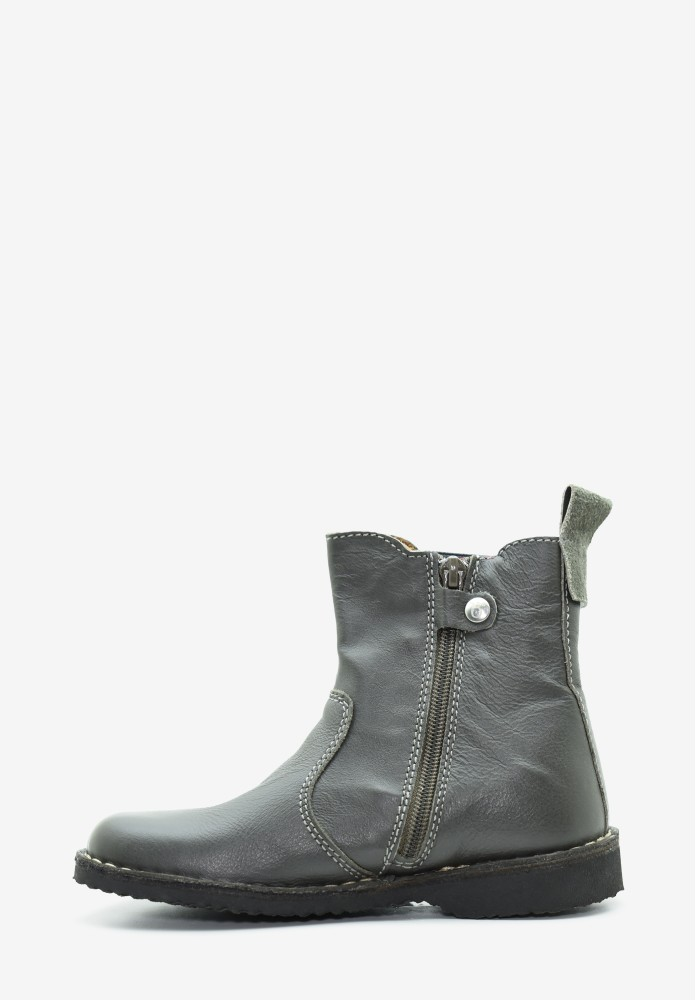 Kid Boy Leather Boots