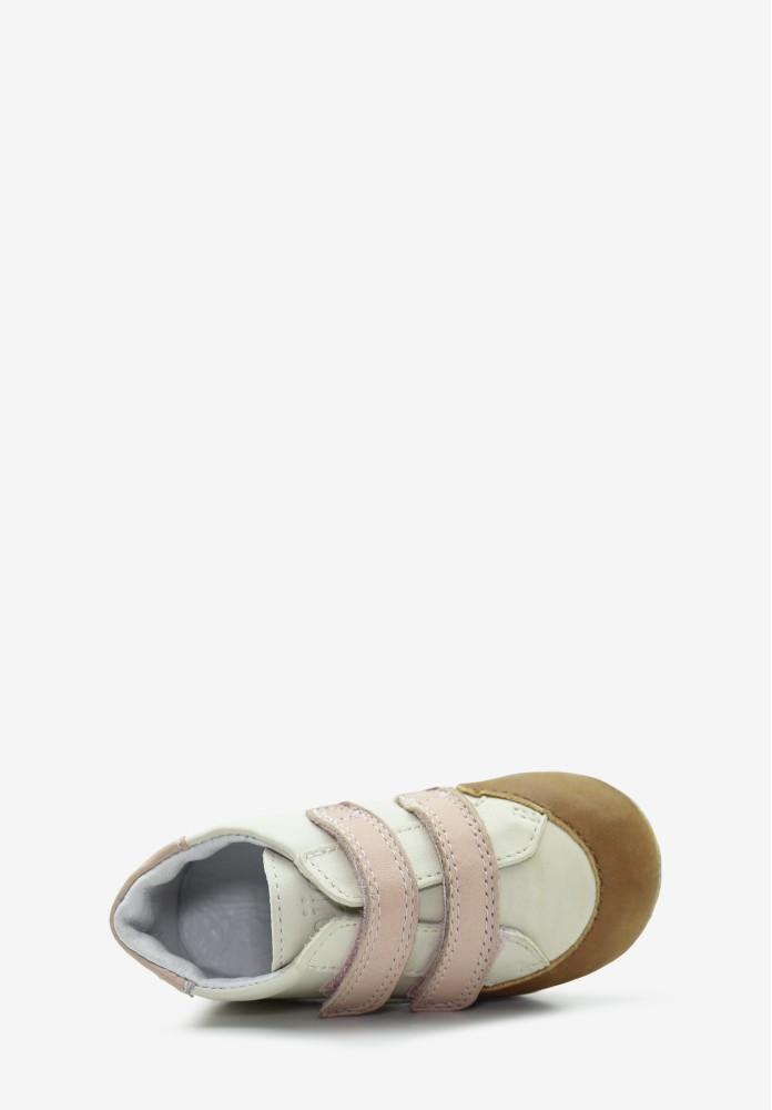 Chaussure Cuir Fille Bébé 4 pattes