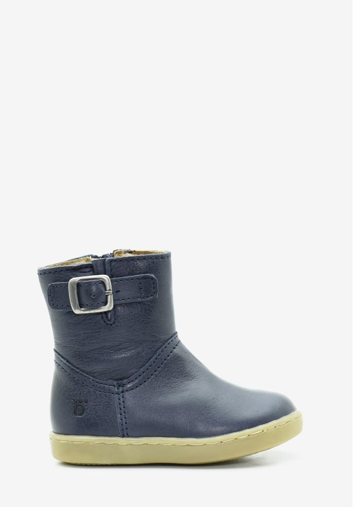 erste Schritte Jungs Leder Stiefel / Hohe Schuhe