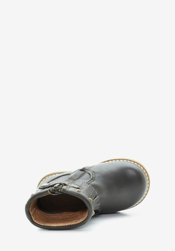 erste Schritte Mädchen Leder Stiefel / Hohe Schuhe