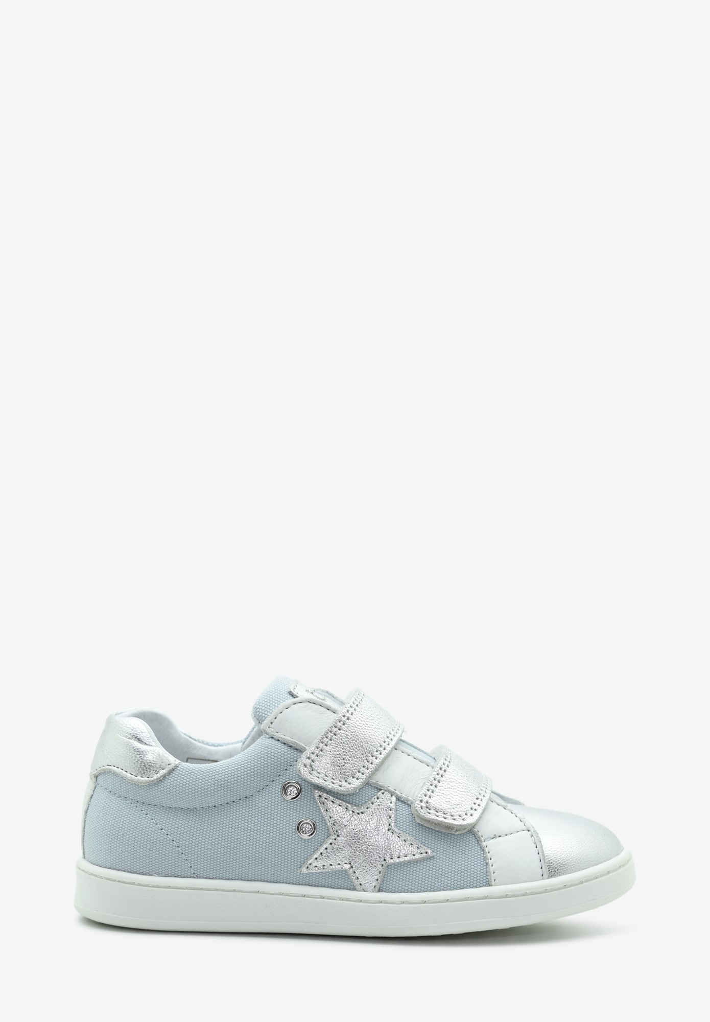 Kid Girl Leather Sneakers