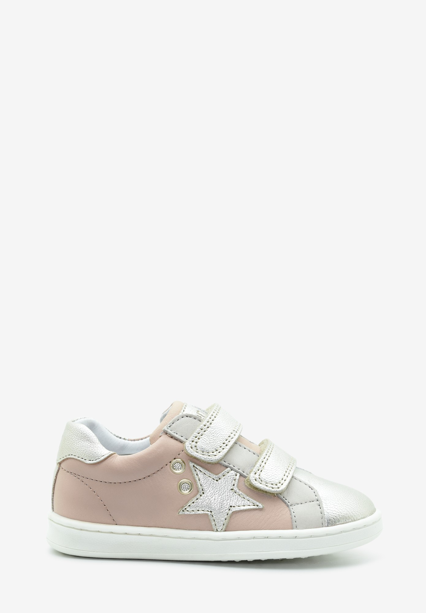 Toddler Girl Leather Sneakers