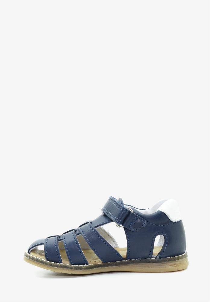 Chaussure bebe premiers pas bottine Nadro  Bleu marine