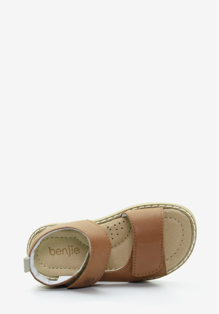 Emaney velcro  Taupe