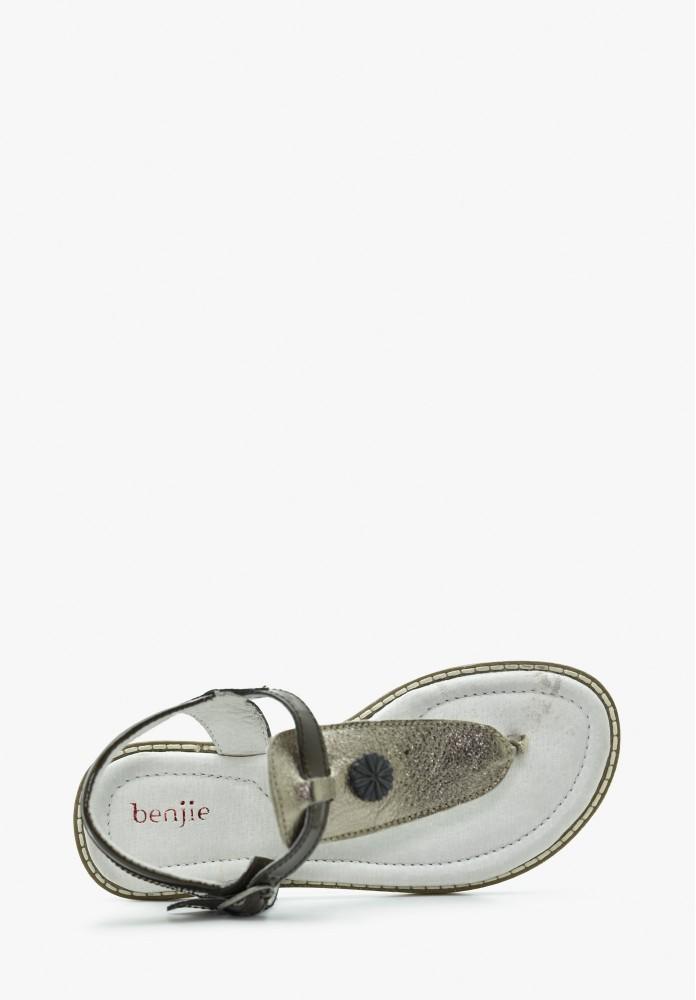 Sandale Cuir Fille Enfant