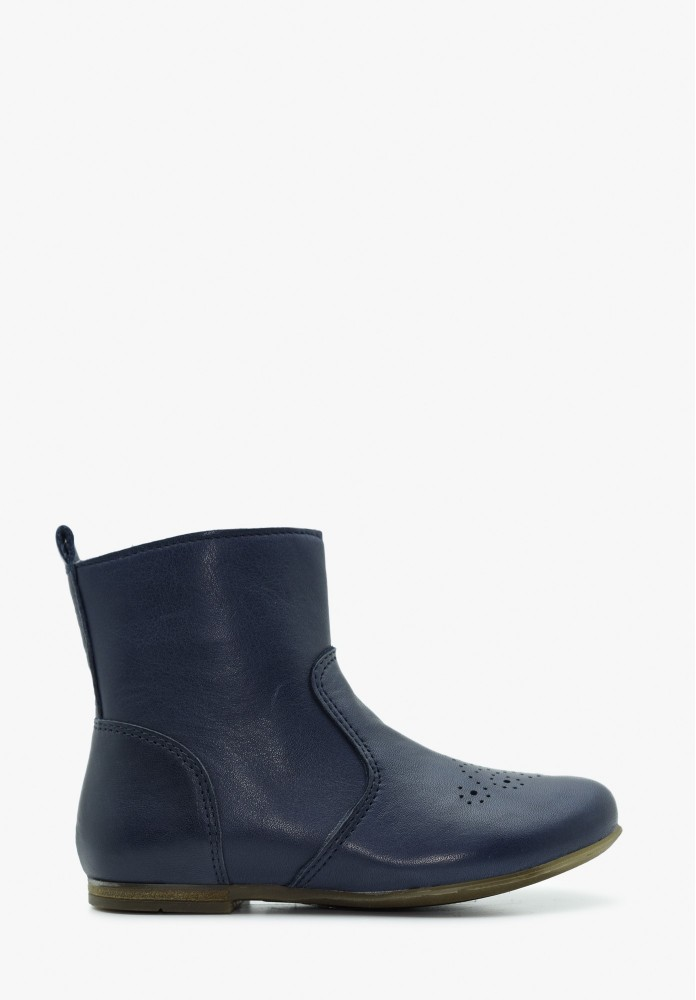 Toddler Boy and Girl Leather Boots
