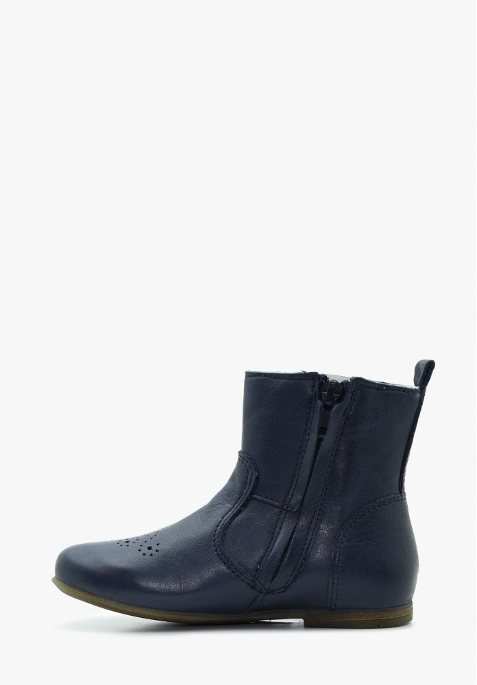 Kid Boy and Girl Leather Boots