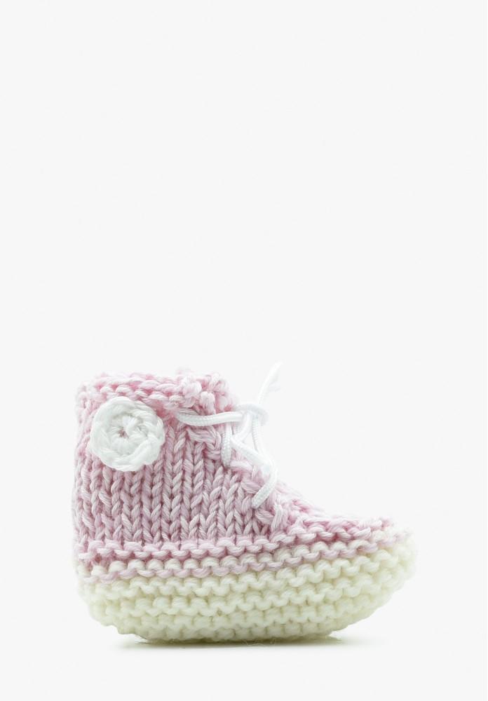 Babys Mädchen Merinowolle Slipper