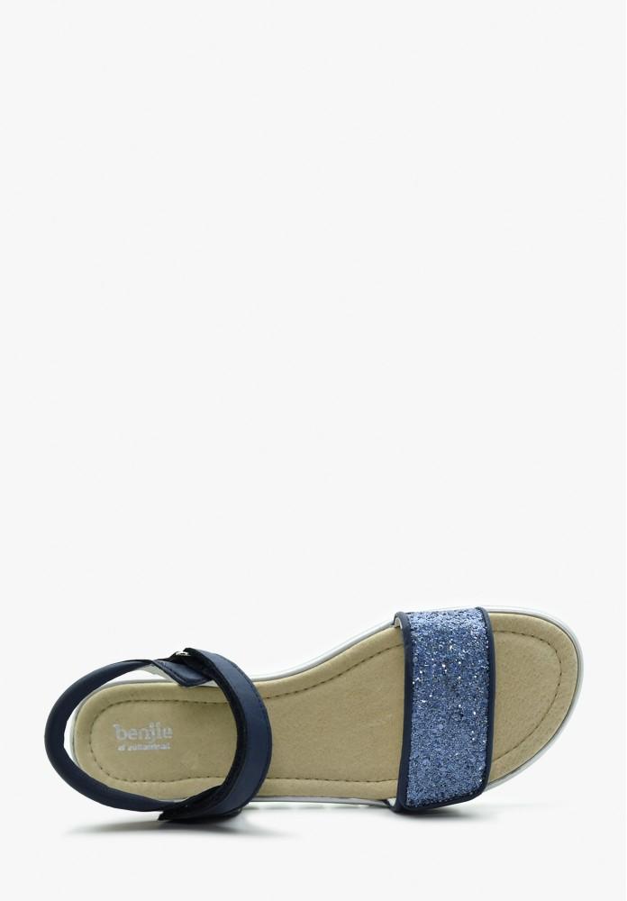 Junior Mädchen Leder Sandale