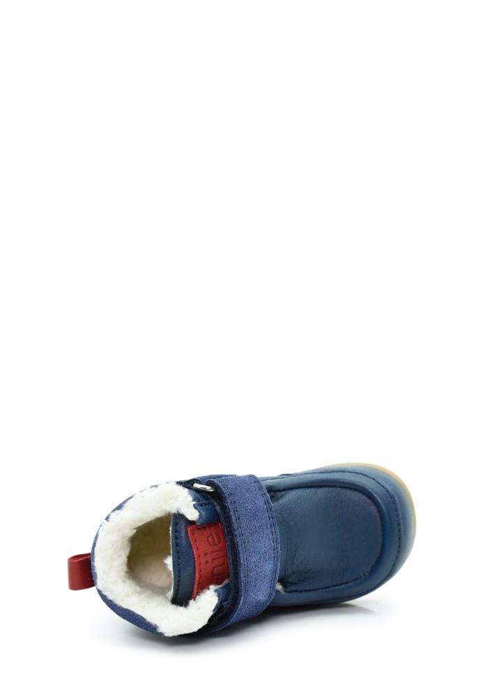 Lieke Tex Fur benjie x KOEL Bleu marine