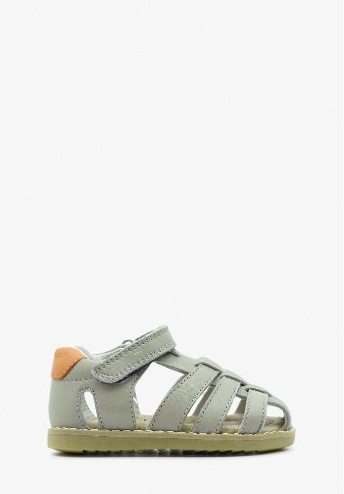erste Schritte Jungs Leder Sandale