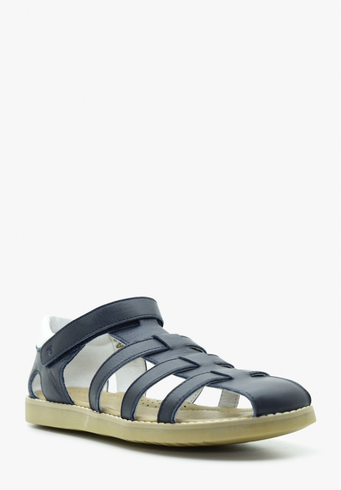 Junior Boy Leather Sandals
