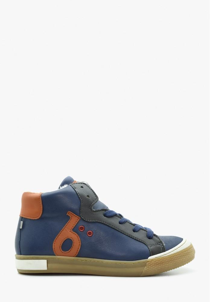 Junior Jungs Leder Sneaker