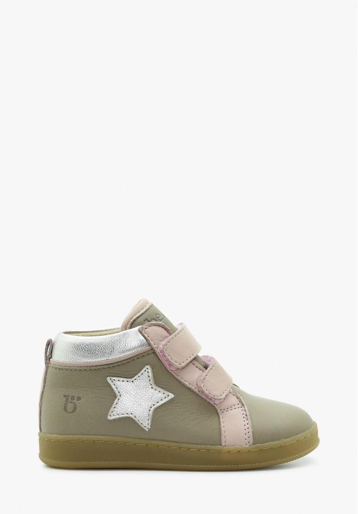 Kleinkinder Mädchen Leder Sneaker